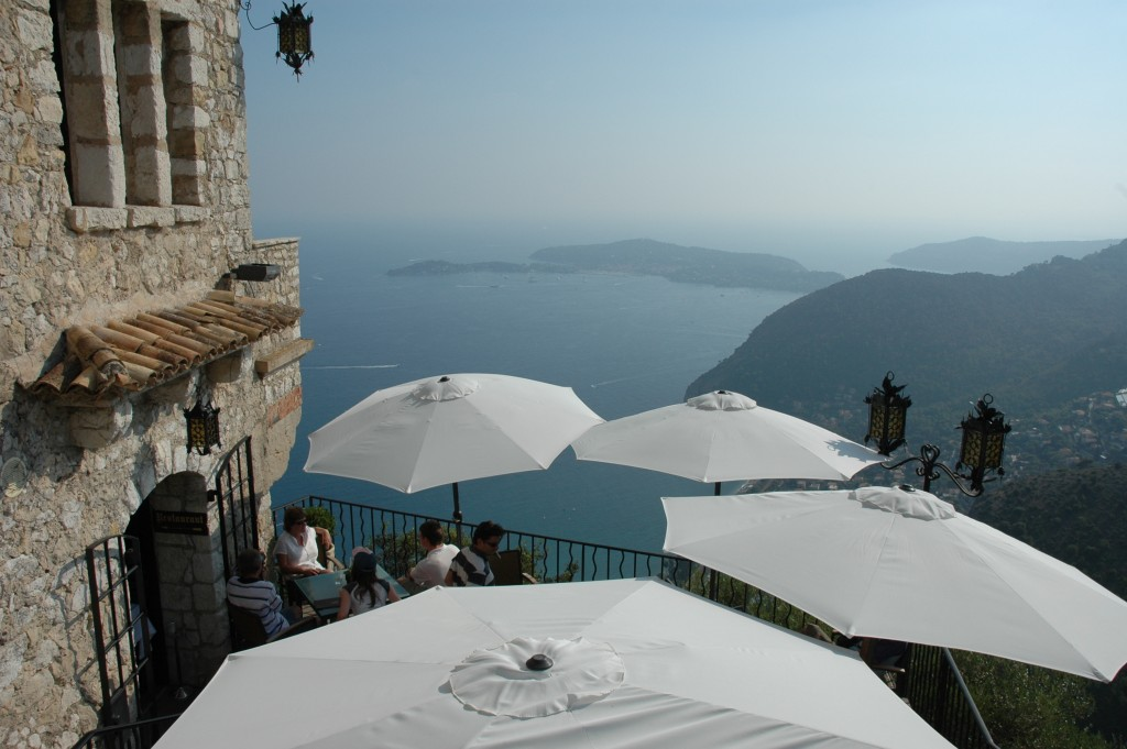 Views from Chateau Eza in Eze