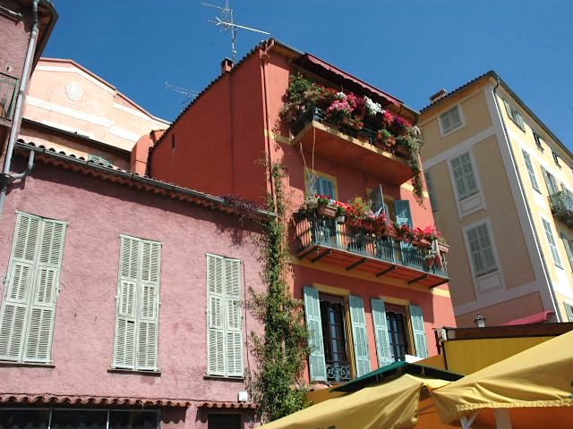 Villefranche houses