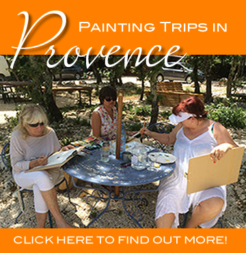Painting Trips in Provence