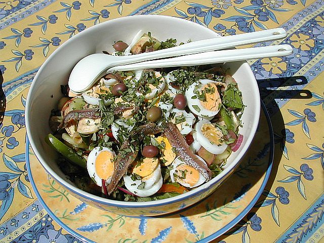Recipes Salade Nicoise Main Picture